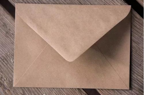 sobres en papel kraft de 125 gr con creatividad e innovación