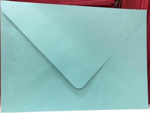 sobres especiales 11,5x16 120 gr varios colores