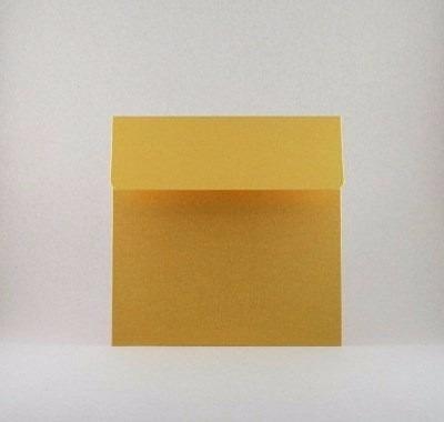 sobres especiales oro gold dorado o de colores 15x15 orygami