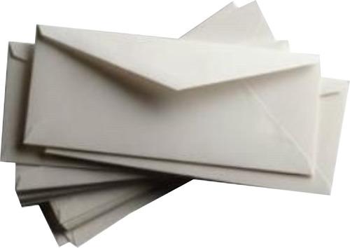 sobres oficio inglés 23,5x12cm impresos en tinta negra x 500