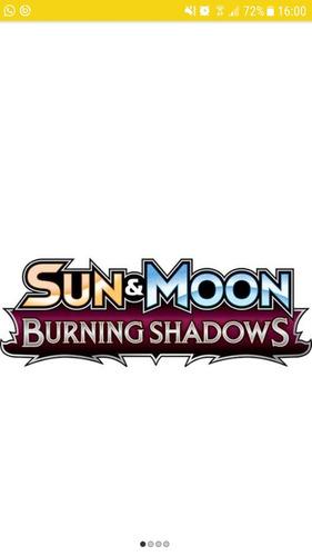 sobres pokemon tcgo online - burning shadow