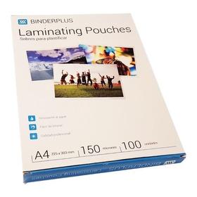 Sobres Pouch Plastificadora Plastificar A4 150mic X100 Unid.