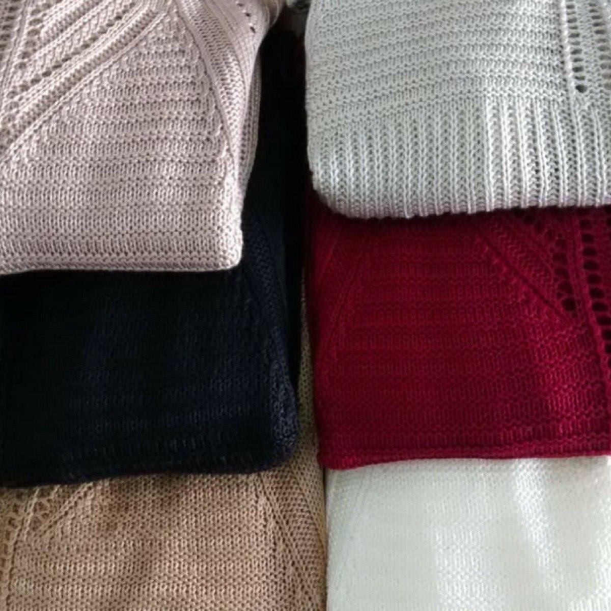 ffe4c440a6 sobretudo de malha feminino blusa manga longa trico promoção. Carregando  zoom.