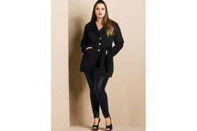 c9dd8df8c Casaco Veludo Plus Size Feminino - Casacos no Mercado Livre Brasil