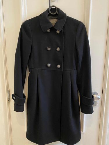 sobretudo/casaco de lã zara