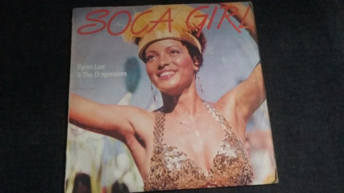 soca girl  byron lee & the dragonaires lp vinilo africano