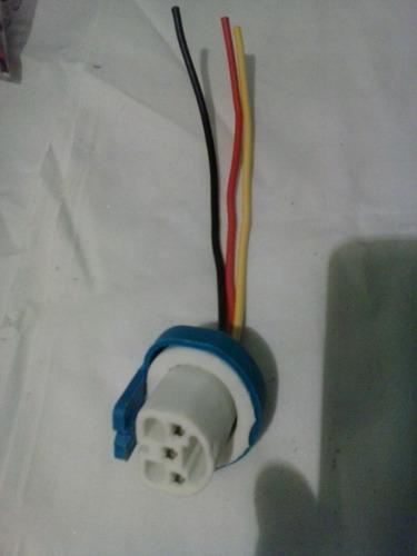 socate conector bombillo 9007/9004 en cerámica