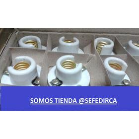 Socate Porcelana E-12 Y E-14 Incluye 3pzs