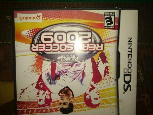 soccer real madrid videojuego nintendo ds - original
