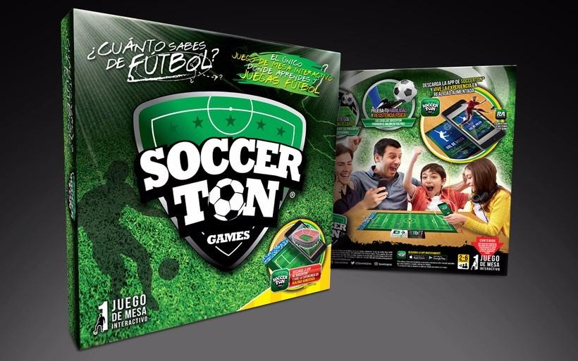 Soccer Ton Juego De Mesa De Futbol 750 00 En Mercado Libre