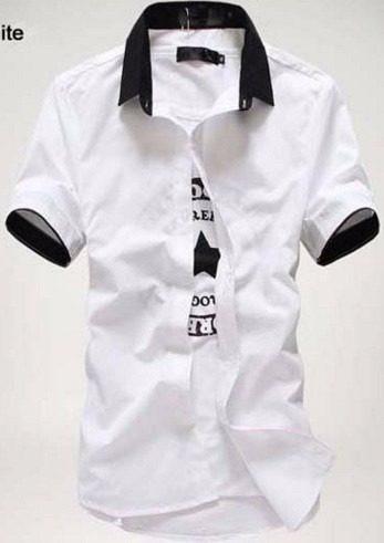 social manga camisa