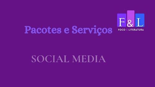 social media foco e literatura
