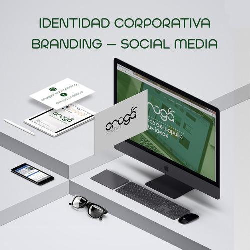 social media - identidad corporativa - branding