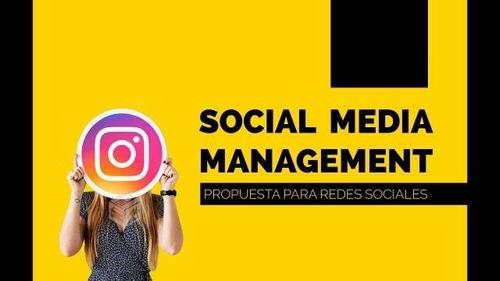 social media   manejo de redes sociales