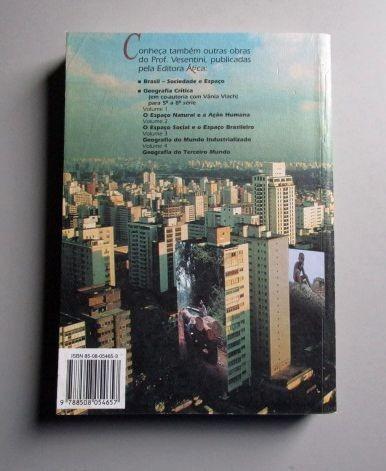 sociedade e espaço -geografia geral e do brasil - vesentini