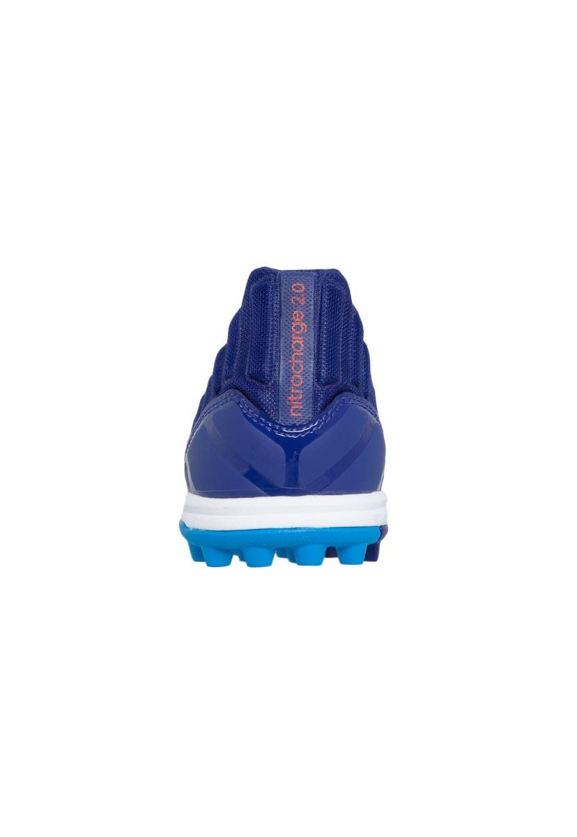 Carregando zoom... chuteira society tf adidas nitrocharge 2.0 azul tam 41  nova d9d91cc2798af