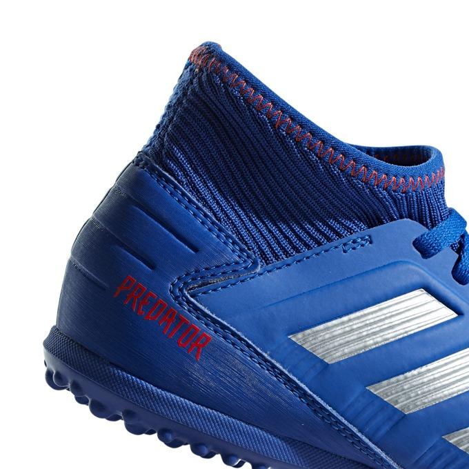 Chuteira Society Infantil adidas Predator 19.3 Tf J Azul pra - R ... a23bc95e2a4bf