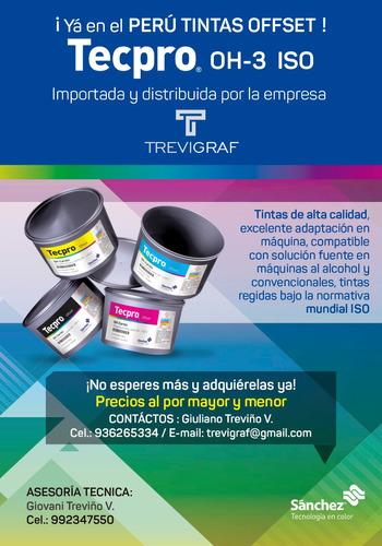 socio - dueño, negocio importación y ventas tintas gráficas