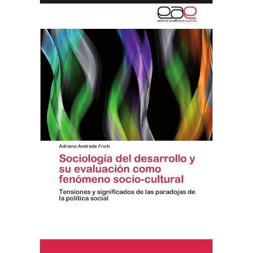sociolog a del desarrollo y su evaluaci n como  envío gratis