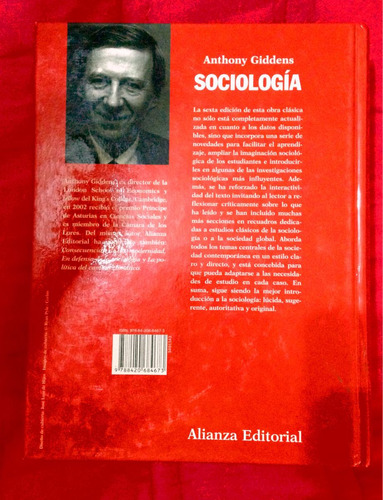 sociologia anthony giddens 6 edicion new
