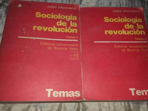 sociología de la revolución, juan monnerot