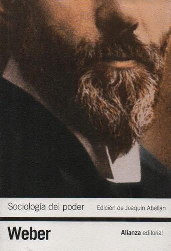 sociología del poder. max weber. alianza