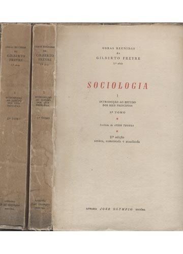 sociologia introdução ao estudo dos seus princípios  i e ii