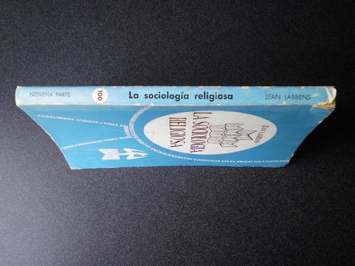 sociología religiosa