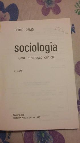 sociologia uma introdução à crítica