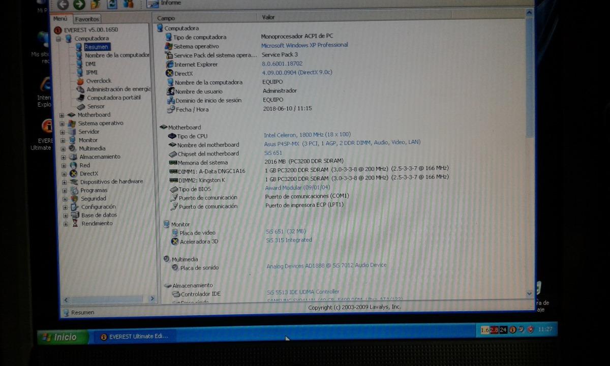 Mother Asus P4sp Mx Socket 478