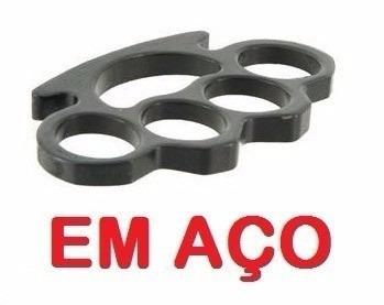 soco inglês tatico soqueira em aço policia police