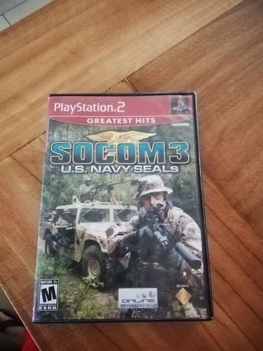 socom 3 original para ps2