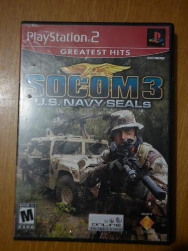 socom 3 para ps-2
