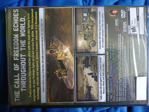socom 3 u.s. navy seals playstion 2 ps2 nuevo y sellado