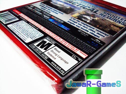 socom 4 nuevo ps3 - playstation 3