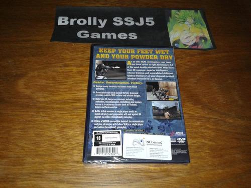 socom u.s. navy seals lacrado original playstation ps2