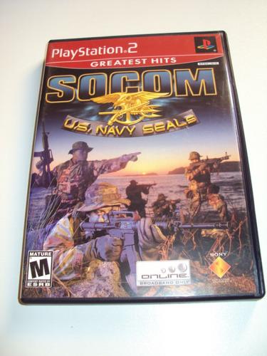 socom u.s. navy seals original completo playstation 2