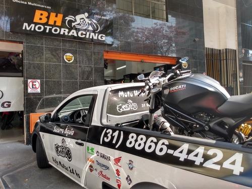 socorro águia bh- transporto sua moto como se fosse a minha