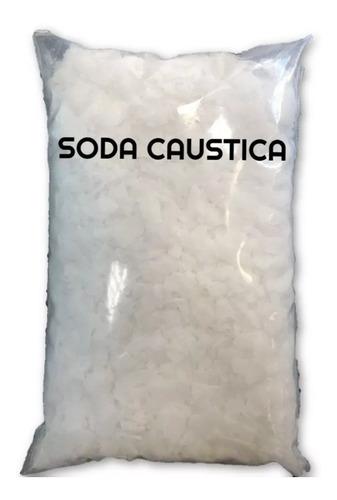 soda caustica importada 99% hidróxido de sódio pacote 1kg