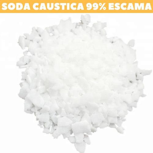 soda caustica importada 99% hidróxido de sódio pacote 5kg