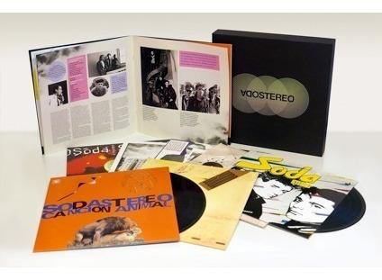 soda stereo caja negra box set 7 vinilos lp nuevo en stock