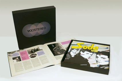 soda stereo | ¿caja negra¿ | box set (7lps + libro) nuevo