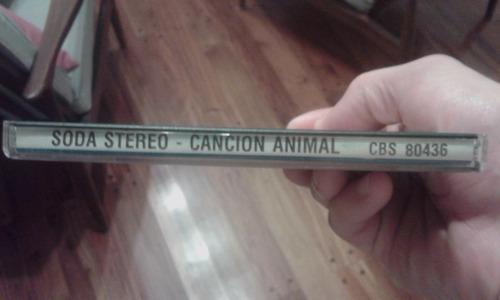 soda stereo. canción animal cd
