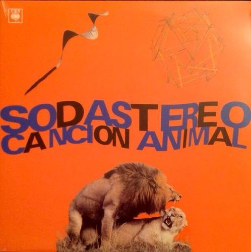 soda stereo - cancion animal vinilo nuevo sellado obivinilos