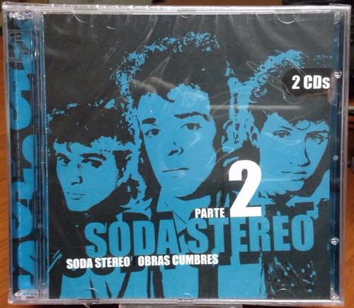 soda stereo cd doble obras cumbres 2