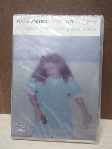 soda stereo confort y musica para volar dvd nuevo original