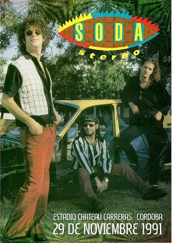 soda stereo cordoba 1991