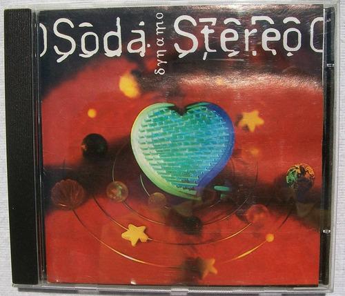 soda stereo. dynamo. cd sony 1992