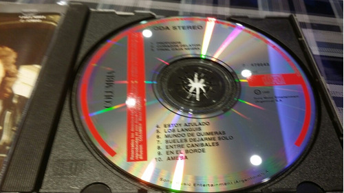 soda stereo - musimundo -cd rareza impecable