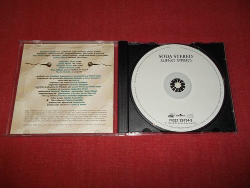 soda stereo - sueño stereo cd argentina ed 1998 mdisk